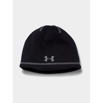 Čepice Under Armour Coldgear Boy's Elements 2.0 Beanie Černá