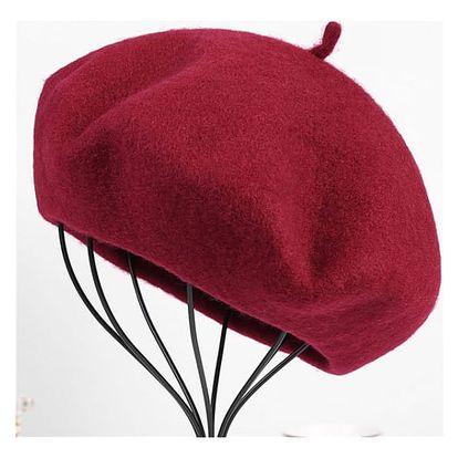 Elegantní francouzský baret - 8 barev
