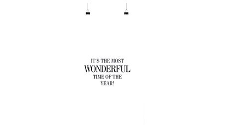 TAFELGUT Plakáty It's the most wonderful 30x42 cm, černá barva, bílá barva, papír
