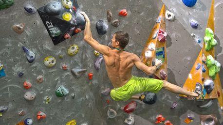 Individuální 1hod. kurz lezení na umělé stěně