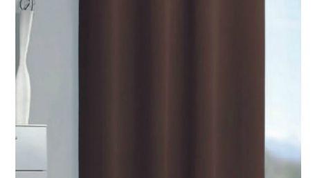 Albani Zatemňovací závěs Mia čokoládová, 140 x 245 cm