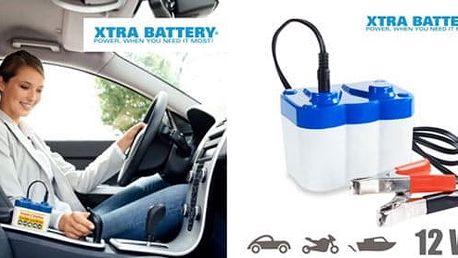 Záložní baterie do auta - mrazy Vás již nezaskočí