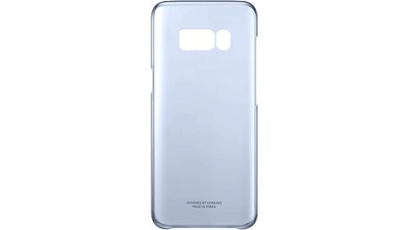 Samsung S8 poloprůhledný zadní kryt, modrá - EF-QG950CLEGWW