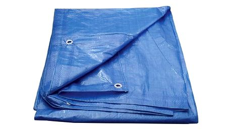 Plachta zakrývací CEV 6 x 10 m modrá
