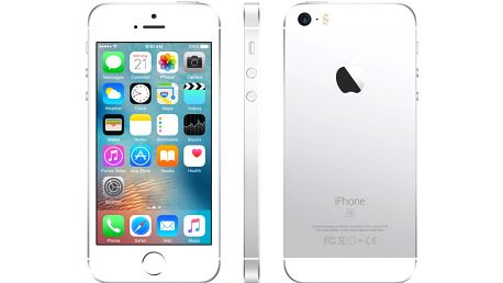 Apple iPhone SE 16GB, stříbrná - MLLP2CS/A