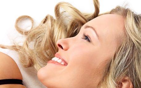 60min. ošetření pleti + lifting obličeje, krku a masáž nohou