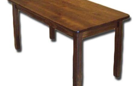 Jídelní stůl WOOD, 60x120cm, ořech