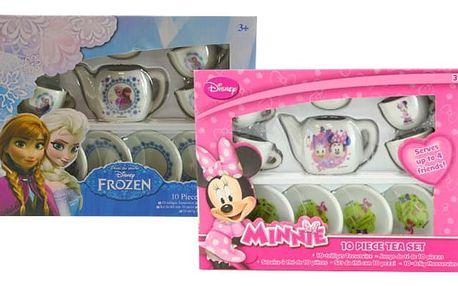 Dětský čajový set s pohádkovými motivy pro holčičí čajové dýchánky