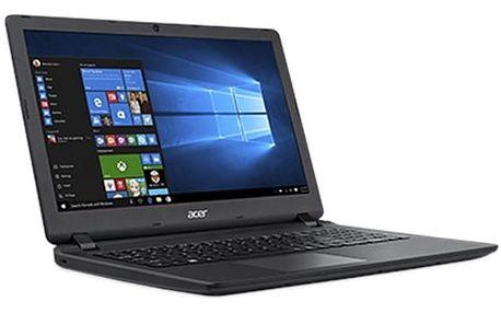 Notebook Acer ES15 (ES1-523-4733) (NX.GL0EC.002) černý/červený Software F-Secure SAFE 6 měsíců pro 3 zařízení + Monitorovací software Pinya Guard - licence na 6 měsíců v hodnotě 999 Kč + DOPRAVA ZDARMA
