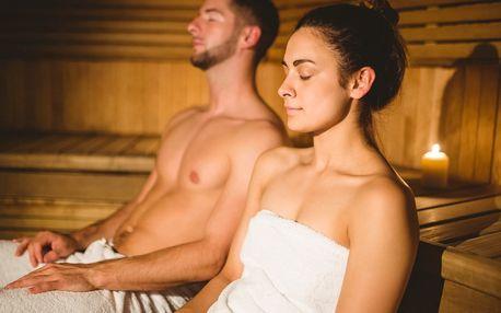 Vstupy do saunového světa pro dva