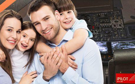 Pilotování dopravního letounu pro celou rodinu