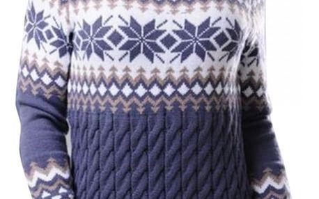 Dámský zimní svetr s rolákem - 3 barvy
