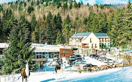 Wellness & Spa Hotel Čertov***, Aktivní dovolená na horách plná sportu a relaxu ve wellness