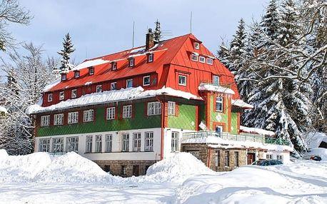 Dovolená v chatě u Krkonoš a Jizerských hor