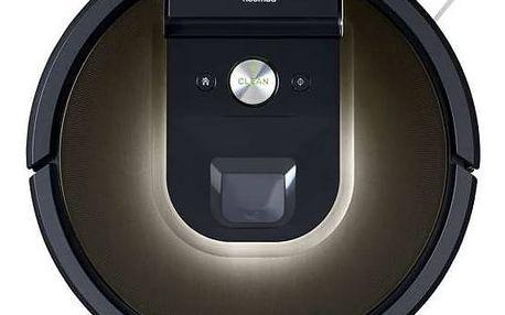 Vysavač robotický iRobot Roomba 980 černý/šedý + Doprava zdarma