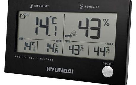 Meteorologická stanice Hyundai WS 2215 B černá