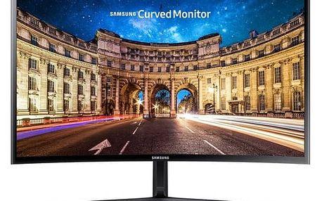 Monitor Samsung C27F396 (LC27F396FHUXEN) černý + Doprava zdarma