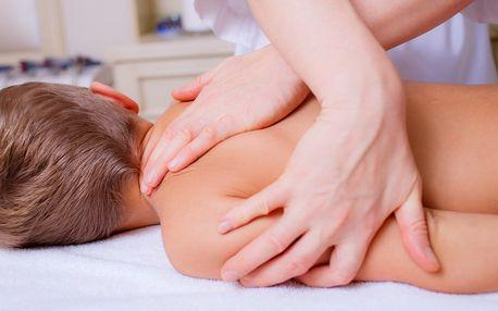 Báječná hodinová masáž pro děti od 4 do 14 let