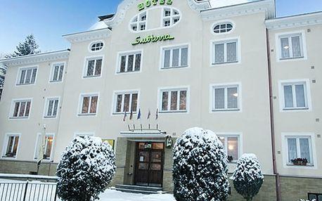 Relaxační wellness pobyt pro dva v hotelu Subterra***, snídaně, večeře, masáže, vstup do wellness.