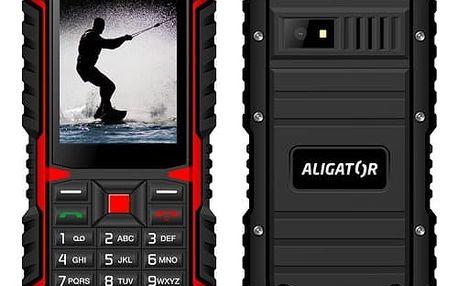 Aligator R12 eXtremo, černo - červená