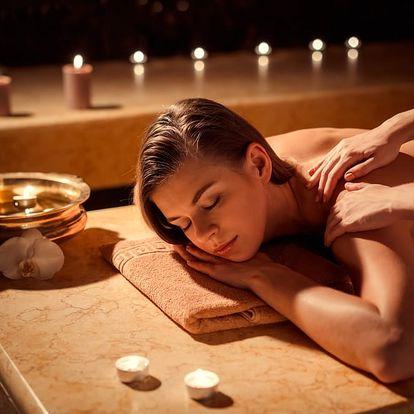 60min. masáž pro 1 osobu: celotělová či havajská, Praha 1