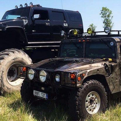 Obr zážitek: zkuste řídit Hummer Monster Truck