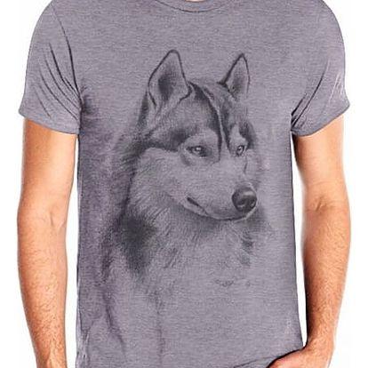 Pánské tričko s vlkem