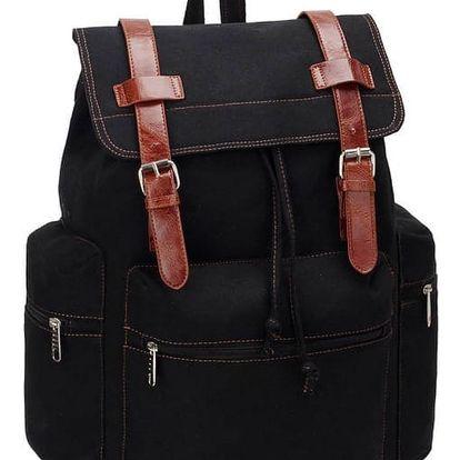 Dámský černý batoh Runny 443