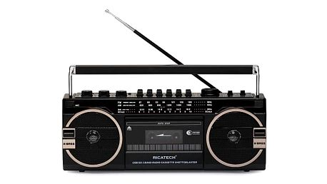 Radiopřijímač RICATECH PR1980 Ghettoblaster