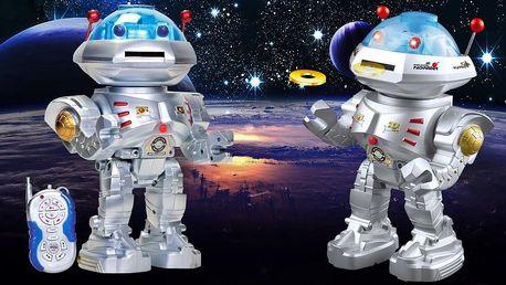 Multifunkční vesmírný robot na dálkové ovládání