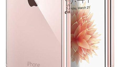 Spigen Crystal Shell kryt pro iPhone SE/5s/5, crystal rose - 041CS20178