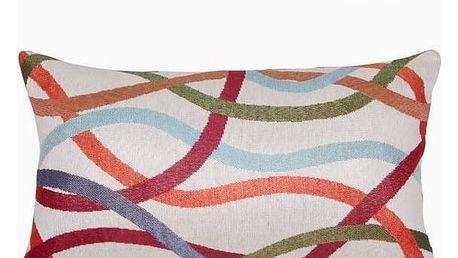 Polštářek Vlny 50 x 30 cm - Little Gala Kolekce by Loom In Bloom