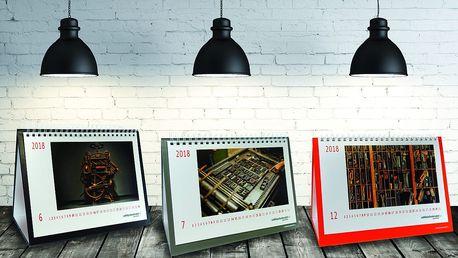 Fotokalendáře či poznámkový blok včetně poštovného
