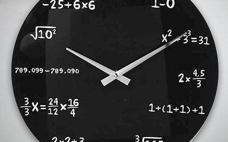 Nástěnné Hodiny Matematika