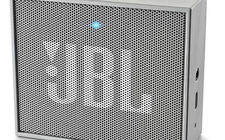 Přenosný reproduktor JBL GO šedý