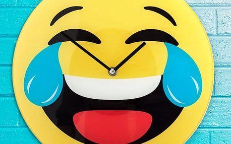 Nástěnné Hodiny Smajlík Smích