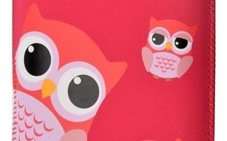 Pouzdro na mobil FIXED Owlet, XXL (RPVEL-054-XXL) červené