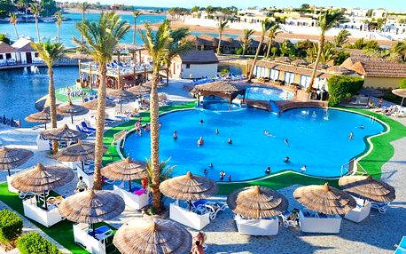 Hotel Panorama Bungalows Resort El Gouna, Hurghada, Egypt, letecky, all inclusive
