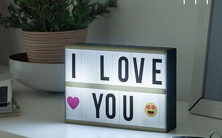 LED Tabule s Podsvícením Wagon Trend 21 x 15 cm