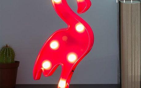 LED Nástěnné Svítidlo Plameňák Wagon Trend 7 LED