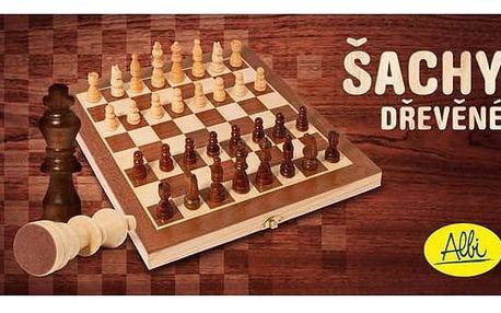 Šachy Albi dřevěné
