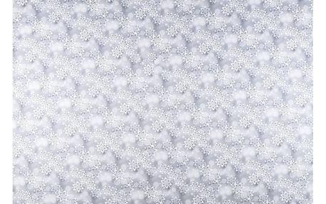 Forbyt Vánoční ubrus Snowflakes, 120 x 140 cm