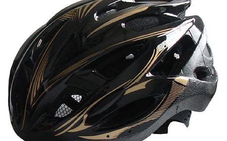 Brother 40943 Černá cyklistická helma velikost XL(60/62cm)