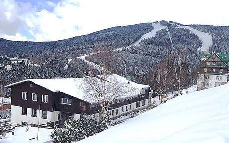 Hotel Venuše***, Užijte si zimu v Krkonoších s polopenzí a saunou