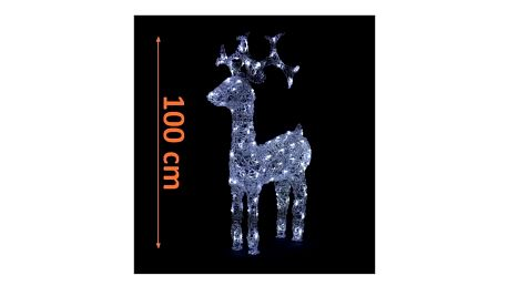 Sob LED - 100 cm - bílá - 18000137