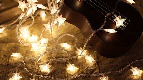 LED světýlka hvězdičky
