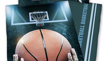 Herding Bavlněné povlečení Basketball, 140 x 200 cm, 70 x 90 cm