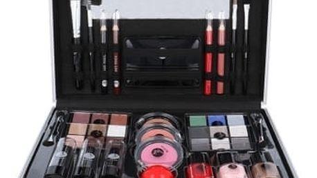 2K All About Beauty Train Case dárková kazeta pro ženy Complete Makeup Palette