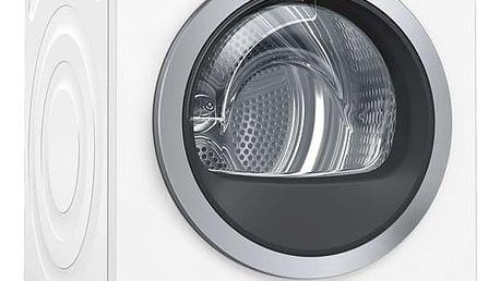 Sušička prádla Bosch WTW876WBY bílá + dárky Espresso Bosch TAS1402 Tassimo + Bosch Starter Pack Tassimo + DOPRAVA ZDARMA