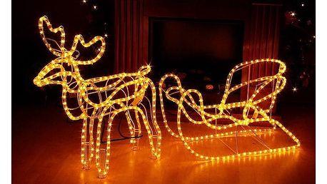 Sob LED se saněmi - 140 cm - 18000138